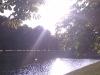 Sonne am Decksteiner Weiher