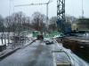 Februar 2013 - Die Stahlteile für die Betondecke sind schon da.