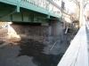 März 2013 - Das Gerüst ist weg, die Brücke steht frei.
